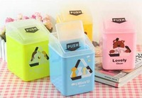 Mini animals fashionable lovely Desktop Trash can ash-bin mini garbage can Hot Sale Lowest Price Free shipping