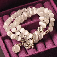 Natural crystal natural Opal Bracelet retro original multilayer girls Bracelet free shipping