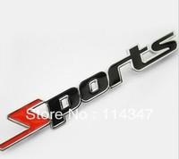 3D Metal Sports Emblem Car Truck Motor Sticker Auto Decal Car Sticker