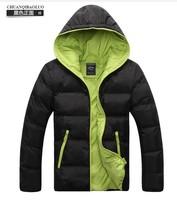 HotFree shipping! Han edition men's leisure coat to keep warm winter jacket down jacket