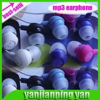 2014 New  Cheap Cute 3.5mm Jack In-Ear Smile Earbud Earphones Headset Fruit Headphones for MP3,MP4 Fone Gift 034