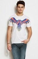T-shirt men's clothing summer male short-sleeve t-shirt aj men's loose o-neck clothes spring plus size 3119
