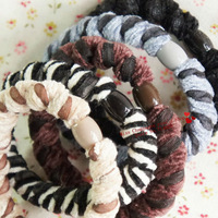 100 pcs/lot.Lace cloth patchwork headband/Elastic hair band/Hair accessories/Headwear for girls.Wholesale.Quality.TWF21M100