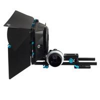 Fotga DP3000 QR follow focus for DSLR + 15mm rod rail baseplate + M1 matte box