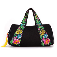 free shipping Fashion trend vintage national embroidery bag canvas bag women bag female bags handbag