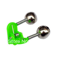 Free shipping Y46 fish alarm bell small bell free shipping Top Quality Super price 30pcs/lot uminous bell fishing