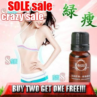 Free Shipping Slimming Massage-Oel Weight loss products fat thin face thin waist thin leg 10ml