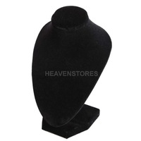 15cm*10cm Black Jewelry Pendant Display Stand Holder for Show Decoration hv3n
