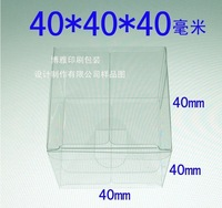 Factory direct sales! 4*4*4cm. PVC package box /Display doll,wedding gift,fruit etc. box.Environmental friendly!