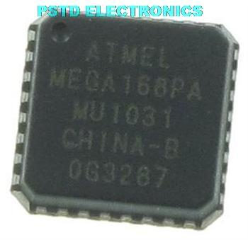 ATMEGA168PA-MU  8-bit Microcontroller with 4/8/16/32K Bytes In-System Programmable Flash