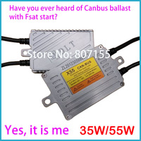 2013 100% pass rate Canbus ballast 12V35W55W for H1 H3 H7 H11 HB3 HB4 xenon lights fast bright with canbus ballast free shipping