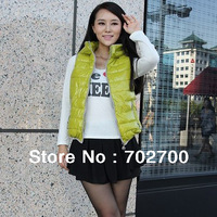 Товары на заказ 2013 Autumn Winter Women Fashion Slim Fur Collar With A Hood Cotton Wadded Jacket Short