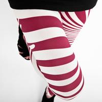 2014 summer women's gauze zebra printed slim Plus/Big Size XXXL Leggings/Pants,Free Shipping