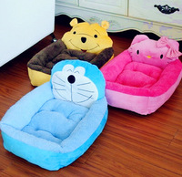 2013NEW yellow/blue/pink   pet bed Pet nest cartoon cat litter  pet supplies the dog bed,S/L