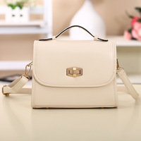 2014 Free Shipping Women's Handbags Candy Color All-match One Shoulder Bag Messenger Bags