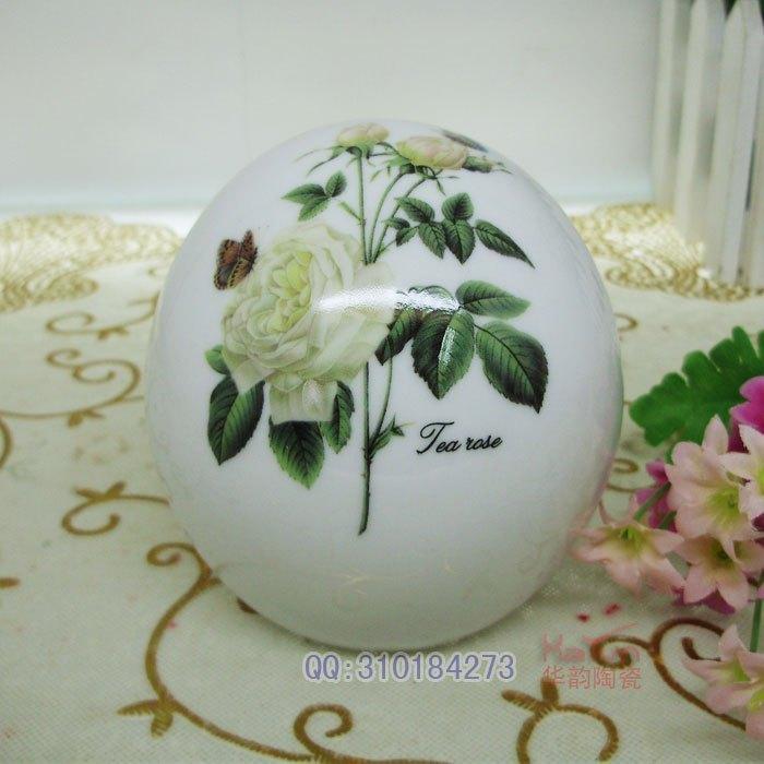 Jingdezhen ceramic fashion personality fashion bone china ashtray mini pocket-size type(China (Mainland))
