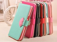 Free Shipping!!! 6c Book Cover Case Flip Case Magnetic Leather Case For Note 2 Mobile
