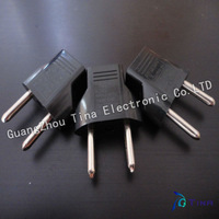 free shipping 10PCS/LOT  EU plug Travel Power Adapter charger US TO EU Europe Plug Convert  TINA