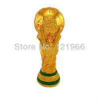 The 2014 Brazil World Cup Fans souvenirs Gift trophy cup model resin weighs 13 cm high The world cup