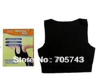 Free shipping women's neoprene slimming vest sporter and shaper vest sleeveless body shaper slimming vest as seen on TV