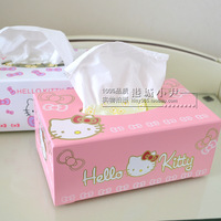 stationary clear candytissue box tissue pumping hellokitty cartoon towel sets wood box box organize boxes for storage paper