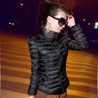 2015 New Fashion Slim Thickening Short Design Wadded Jacket Cotton-Padded Style Women Ladies Girls Downs & Parkas