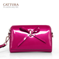Japanned leather cowhide women's handbag day clutch 2013 women's the trend of fashion handbag fashion small bag evening dress