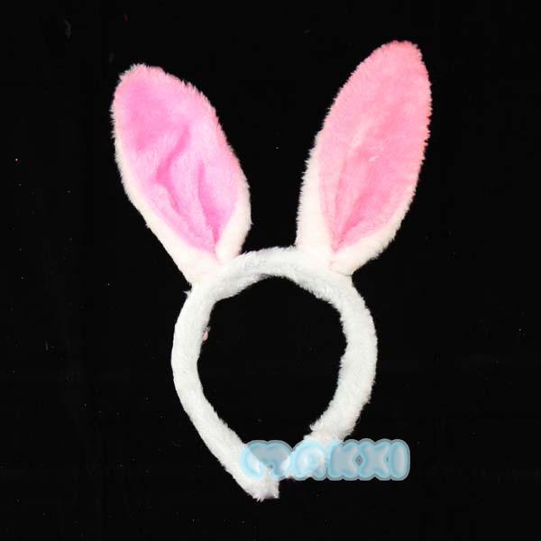Child rabbit ears headband rabbit ear hair accessory gift hair bands(China (Mainland))
