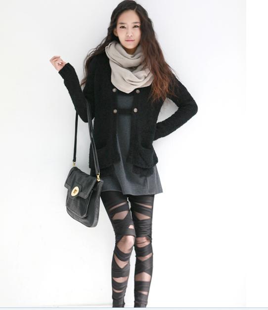 How to wear black milk leggings