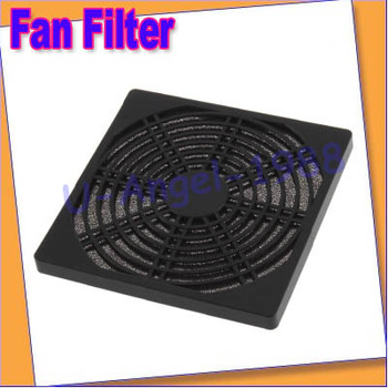 Free shipping+10pcs/lot Dustproof 120mm Case Fan Dust Filter for PC Computer