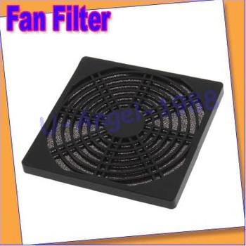 Free shipping+10pcs/lot Dustproof 120mm Case Fan Dust Filter for PC Computer