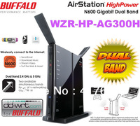 Buffalo Dual Band 2 4GHz 5GHz 802 11A Hipower  Wireless Router