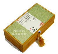 New Exquisite Bamboo Tea Gift Box Chinese Style Tea Box with Free Shipping