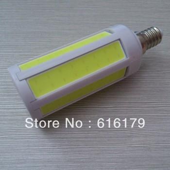 Hot selling 2 year warranty Epistar COB Corn Bulb 9W  e14/b22/e27  AC220-240V Operating temperature -10~45
