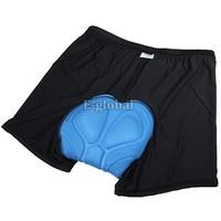 2013 New Arrival Men Bicycle Cycling Underwear Gel 3D Padded Bike Short Pants Black Hot size M L XL XXL XXXL 17888