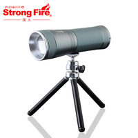Free shipping Retractable focusers 5w double light source fishing lamp blue light touch switch zoom