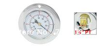 """Vertical Mount 1/4"""" Water Air Pressure Vacuum Gauge -76-0 inHg"""