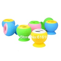 Intelligent Voice Function Hands Free Bluetooth 4.0 Mini Wireless Speaker Silicone Sucker Speaker A9(50PCS)