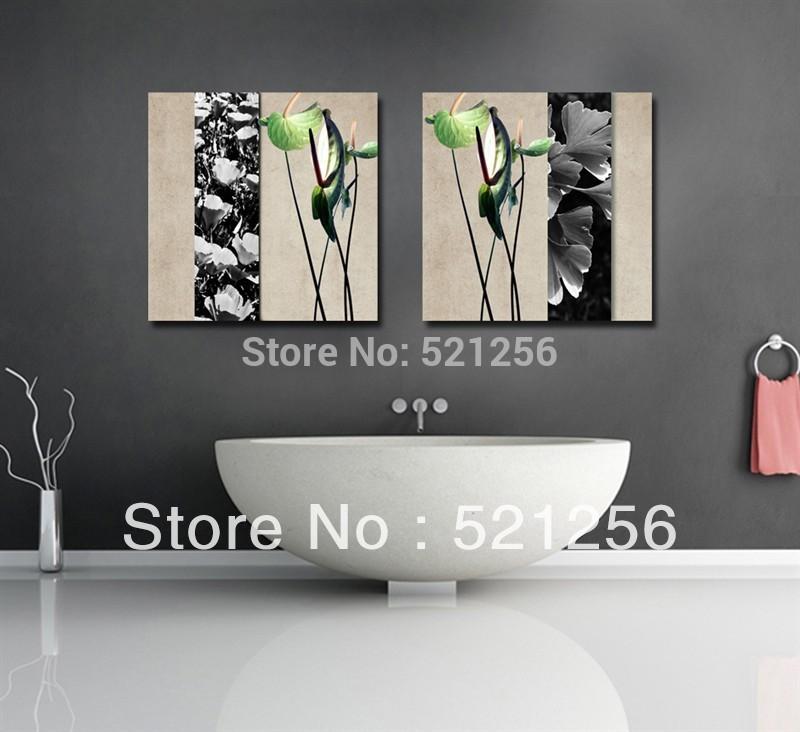 20170417&224421_Canvas Foto Badkamer ~ Online kopen Wholesale badkamer schilderij uit China badkamer