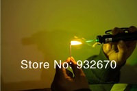 green 1000mw laser pointers 1w/1000w laser pen burn black match+battery+charger+free shipping