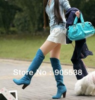Hot selling 2013 women's boots Knee-high boots High boots Knight boots,size:34-41 42 43