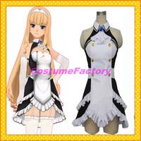 Free Shipping Custom Made Dream Club Cosplay Haruka Maid Dress Party Costume,1.5kg/pc