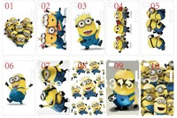 new skin design minions touch4 case hard back cover for ipod touch 4 4G 4th 10PCS/lot+free shipping