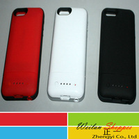 Free Shipping 1700mAh External Juice Backup Battery Charger Case for iPhone 5 5G Power bank