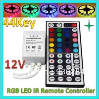 Mini 44 Keys DC 12-24V RGB Led Strip Lights IR Infrared Remote Controller For 3528 5050 SMD RGB Led Strip Lights Welcome OEM