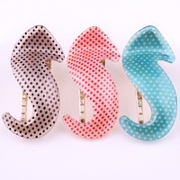 Wholesale New Arrival Fashion Acrylic dot Barrettes Lady's Hair Clips Hair ornaments+ Free shipping