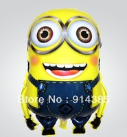 Free shipping 2013 new arrival wholesale 50pcs/lot  foil helium balloons Despicable Me cartoon balloon ballon party