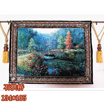 Rustic picture tapestry hanging wall tapestry beautiful tapestry 100% cotton furniture living room