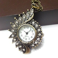 free shipping! the special pendent pocket watch /,Very special pocket watch, conch shape