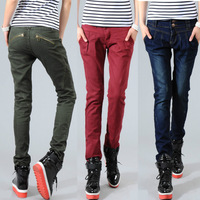 New 2014 Big Size Casual Harem Pants For Women, Cargo Pants, Women Army Fatigue Pants, Fashion Breeches,Size S / M/ L / XL / XXL